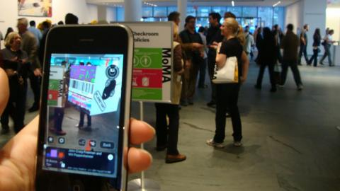 MoMa augmented reality