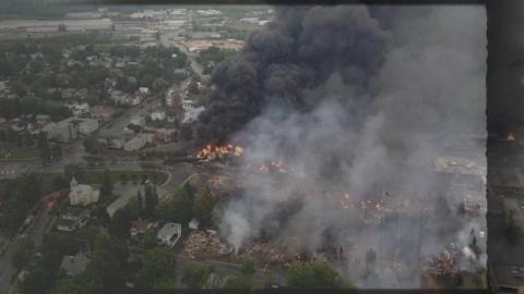 Lac-Mégantic : la reconstruction
